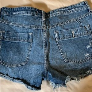 Free People Shorts - Free people denim shorts